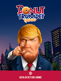 Donut Trumpet Tycoon Realestate Investing Game Screenshot