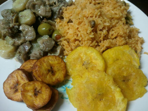 Puerto Rican  Rice (arroz Con Gandules) Recipe
