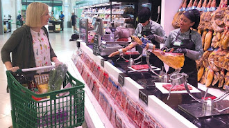 Instalaciones de un supermercado de Mercadona.