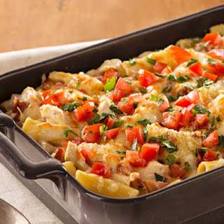 Monterey Chicken Pasta Bake.