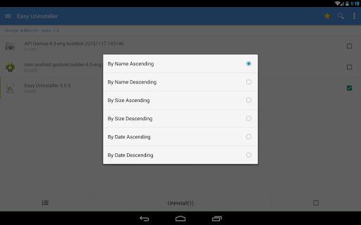 Easy Uninstaller App Uninstall 3.3.6 Screenshots 10
