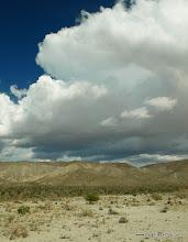 Photo: Desert-scape; Anza Borrego Desert State Park