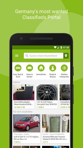 eBay Kleinanzeigen for Germany Android App Screenshot