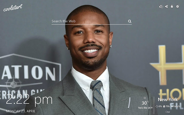 Michael B Jordan HD Wallpapers New Tab Themе