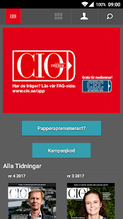 CIO Sweden- screenshot thumbnail