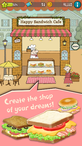 Happy Sandwich Cafe 1.1.5 screenshots 1