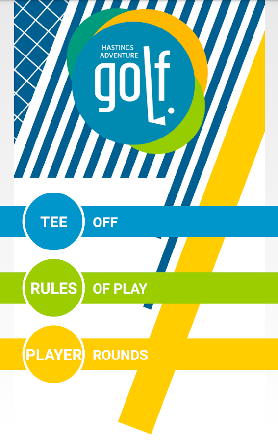 Hastings Adventure Golf App- screenshot