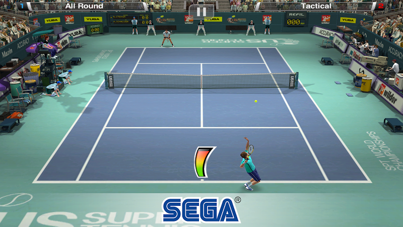 Virtua Tennis Challenge Screenshot 1