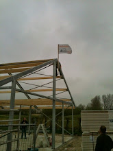 Photo: 4 april: Hoogste punt is bereikt!!