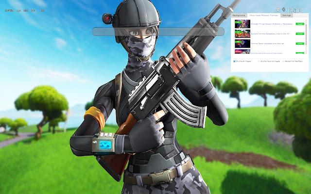 Elite Agent Fortnite Skin Hq Wallpapers
