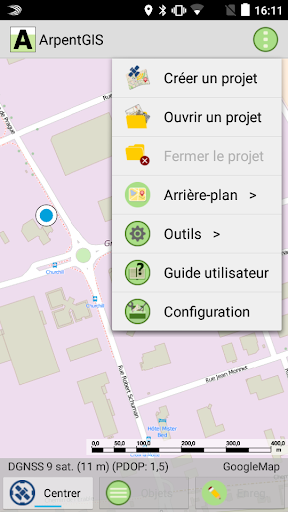 ArpentGIS Mobile screenshot 2