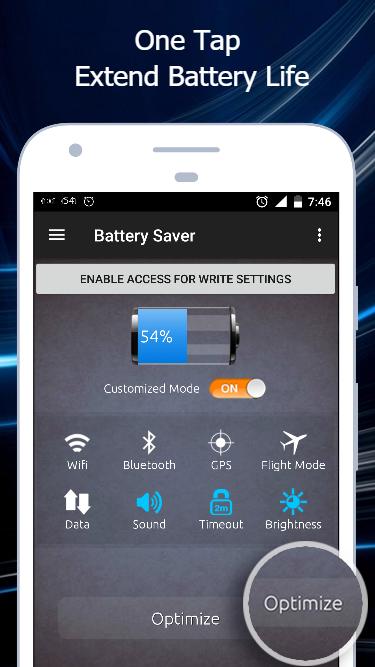 Battery Saver APK standard_fix16 screenshots 1