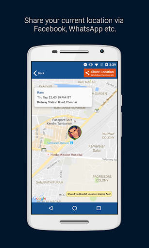 Download BlueDot - Share GPS location Google Play softwares