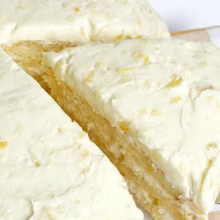 Orange Pineapple Layer Cake.