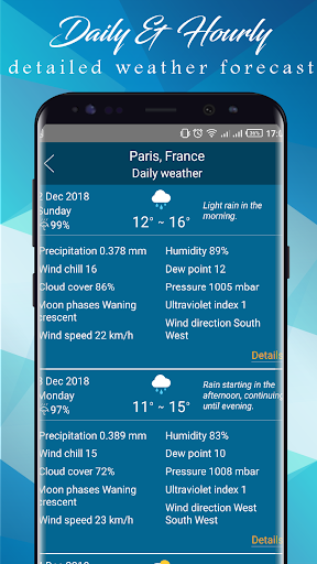 Weather today – Weather Forecast Apps 2019