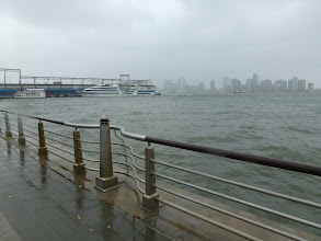 Photo: New Jersey, from across the Hudson River
