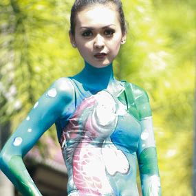 body painting by Agus Gojali - People Body Art/Tattoos