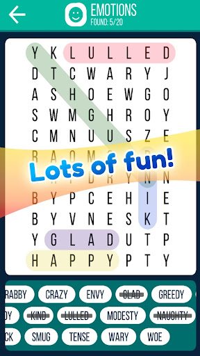 Word Search 2019: Word searching game for free screenshot 2