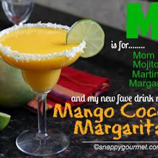 Mango Coconut Margarita.