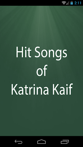 Hit Songs of Katrina Kaif