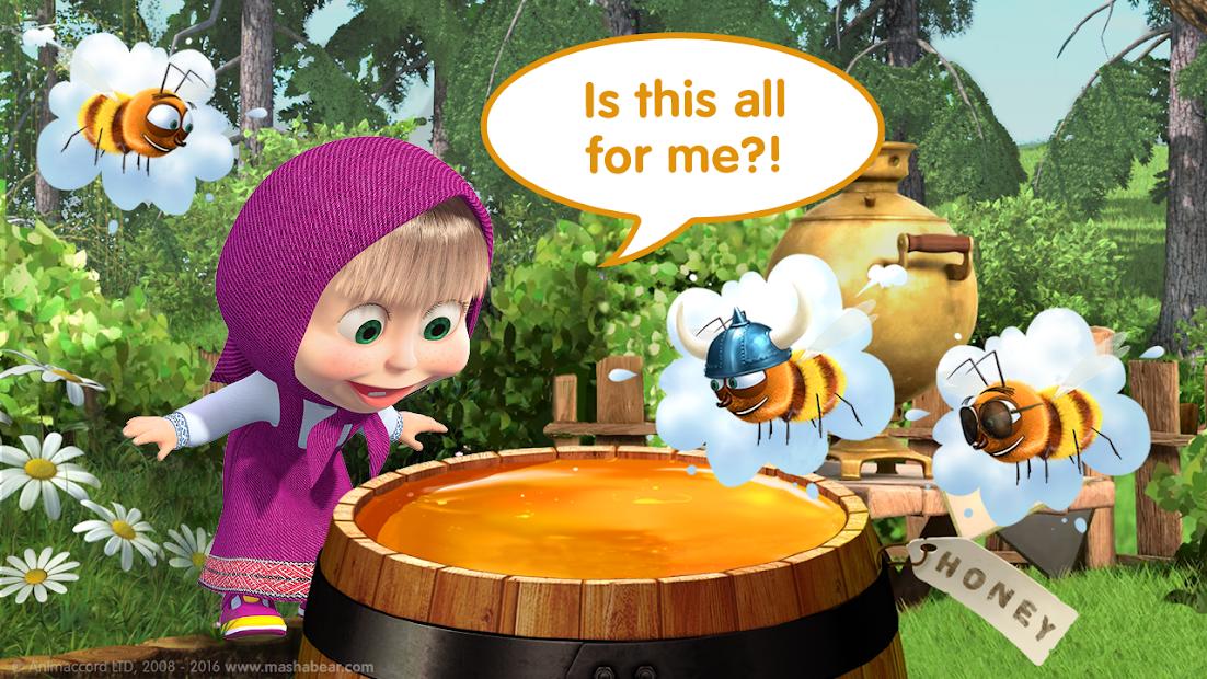 Masha and the Bear Child Games screenshot 5
