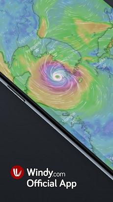 Windy.com - 風、波とハリケーン予測のおすすめ画像1