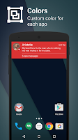 Screenshot of Metro Notifications Free