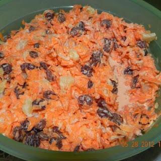 Shredded Carrot Salad With Raisins Recipes