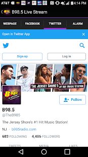 B98.5 Live Stream- screenshot thumbnail