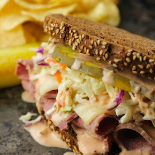 Corned Beef Sandwiches.