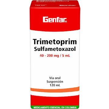 Trimetoprim   Sulfametoxazol Genfar 40/200Mg Suspensión Frasco X120Ml.