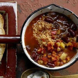 Vegetarian Chili.