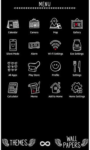 Fun Theme Don't Touch My Phone 1.0.1 Windows u7528 2