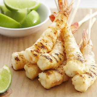 Coconut Shrimp Kebabs