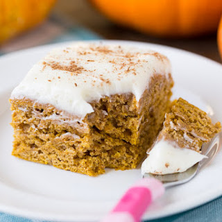Healthy Pumpkin Spice Cake.