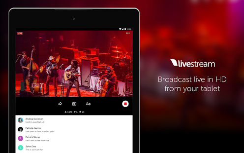 Livestream Android App