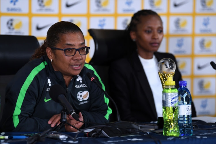 Desiree Ellis (Coach) during the Banyana Banyana Squad Announcement at SAFA House on August 27, 2018 in Johannesburg, South Africa.