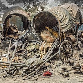 Wagons by Richard Michael Lingo - Artistic Objects Antiques ( artistic objects, pleven, bulgaria, antiques, wagons )