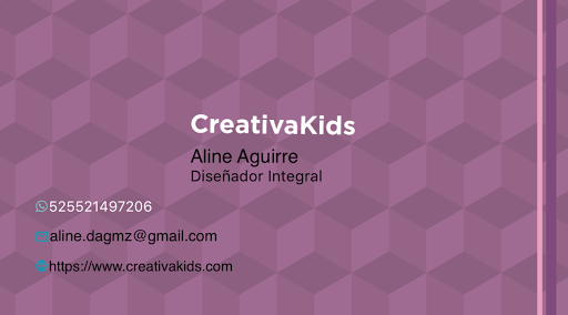 BusinessCard of Aline Aguirre