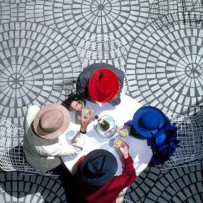 by Lee McLaughlin - People Fashion ( hats, wine, birthday, spirits, anniversary, fashion )