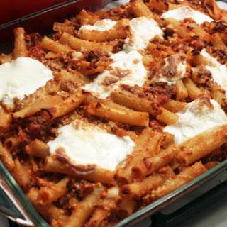 Italian Baked Ziti With Meat Recipes