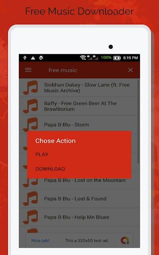 Free Music Downloader - Mp3 Download  screenshots 8