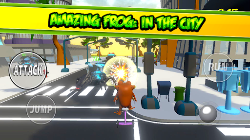 Amazing Frog Game: IN THE CITY - screenshot