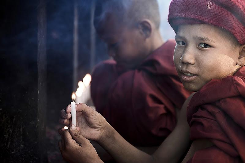 giovani monaci di Gloria Staffa