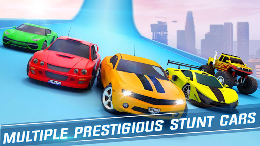 Ramp Car Stunts Racing: Impossible Tracks 3D android2mod screenshots 5