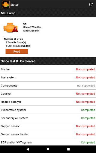 EOBD Facile - OBD 2 Car Diagnostic for elm327 Wifi  screenshots 10