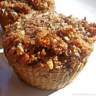 Sweet Potato Muffins (wheat-free, Gluten-free, Whole Grain, Sugar-free, Dairy-free).