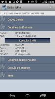 Screenshot of NFe Visualizador