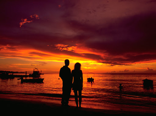 Take some time to enjoy a beautiful sunset on Grenada.