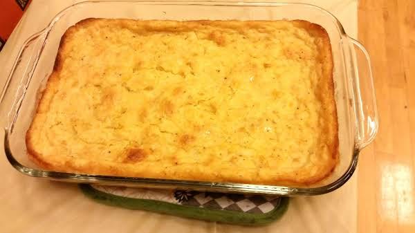 Jiffy Creamed Corn Casserole